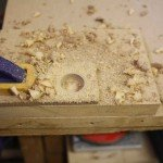 drilling a hole