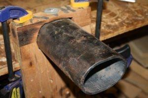 custom side bending iron