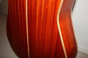 padauk acoustic guitar