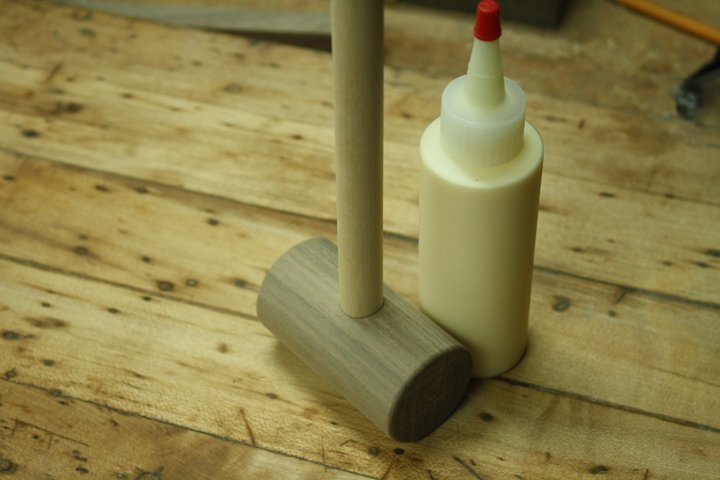 wooden toy hammer