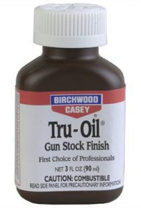tru-oil finish