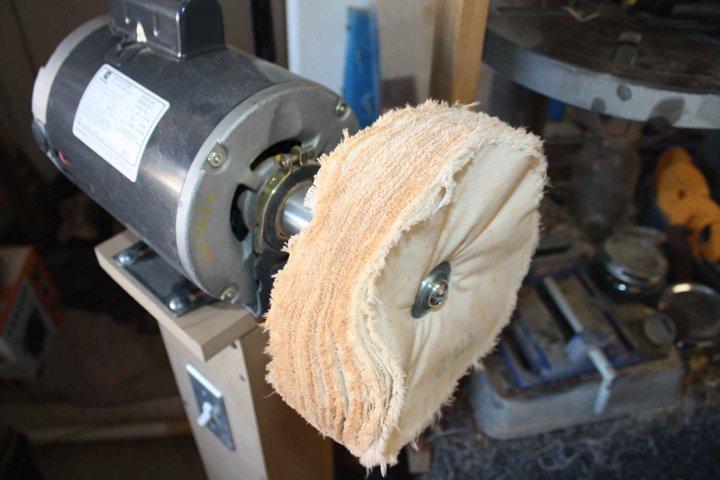 buffing wood