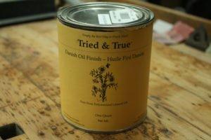 tried and true danish oil