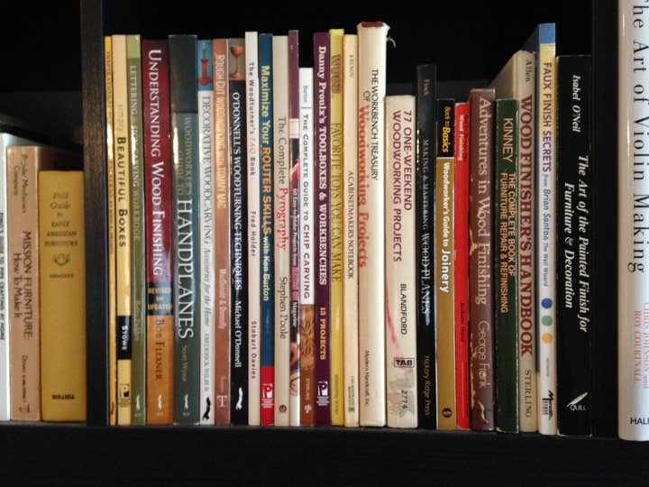Woodworking Library Westfarthing Woodworks