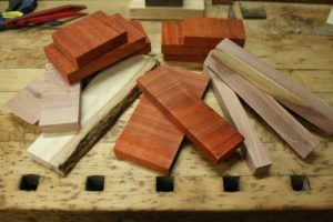 wood for ring making