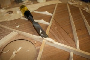 carving acoustic guitar braces