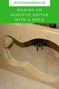 using a guitar mold