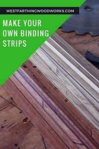 make your own binding strips