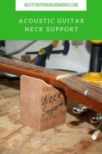 acoustic guitar neck support
