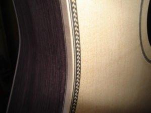 acoustic guitar binding