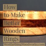 how to make wooden rings