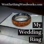 my wooden wedding ring