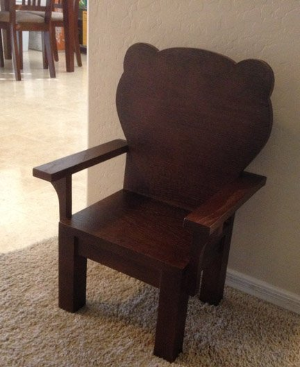 bear chair