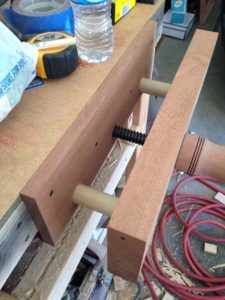 homemade front vise