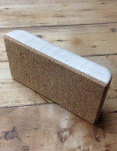 homemade sanding block