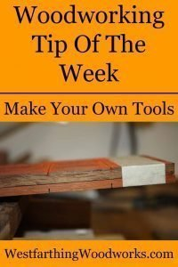 make your own tools