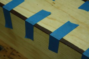 masking tape clamps