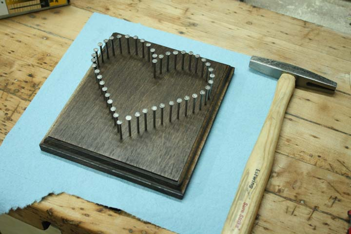 How To Make String Art Westfarthing Woodworks