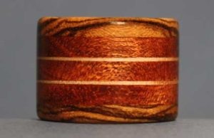wooden ring making