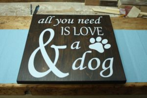 easy pallet wood sign