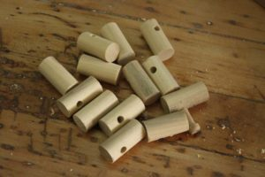 homemade wooden train couplers