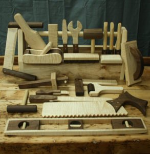 wooden tools for kids