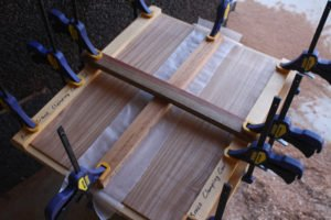 acoustic guitar making tips bookmatching the plates