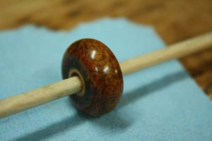 how to make wooden beads