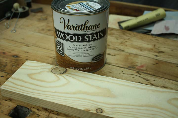 Rustic Wood Staining Technique, Rustic Furniture Stain