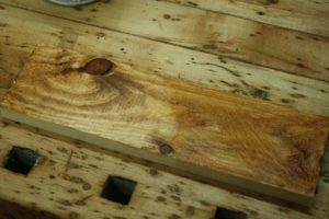 rustic wood staining