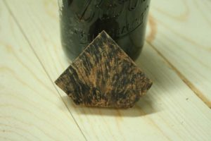 staining wood with steel wool and vinegar