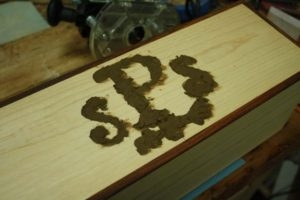 wood filler inlay