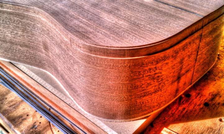 acoustic guitar binding guitar making tips