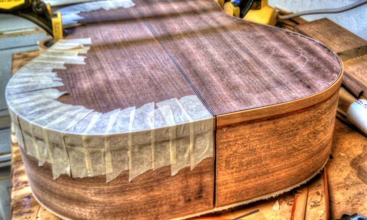 Acoustic Guitar Binding Guitar Making Tips Westfarthing Woodworks