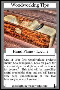 woodworking tips cards hand plane