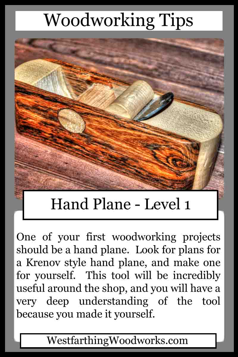 Woodworking Tips Cards - Hand Plane - Westfarthing Woodworks
