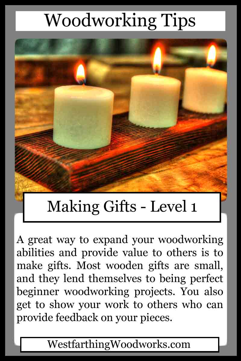 Woodworking Tips Cards Making Gifts Westfarthing Woodworks