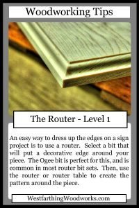woodworking tips cards the router