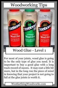 woodworking tips cards wood glue