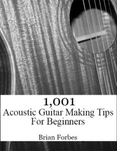 1001 acoustic guitar making tips for beginners book cover