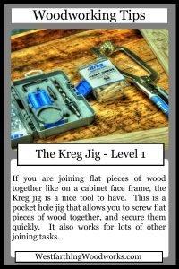 woodworking tips cards the kreg jig