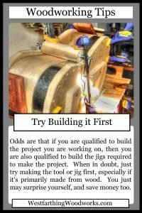 woodworking tips cards try building it first
