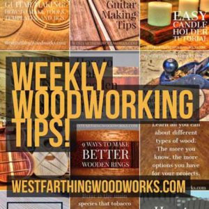 free weekly woodworking tips
