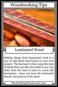 woodworking tips cards laminated wood