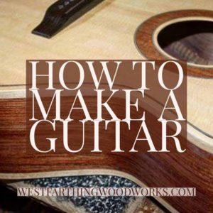 my best guitar making posts