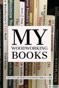 my woodworking books