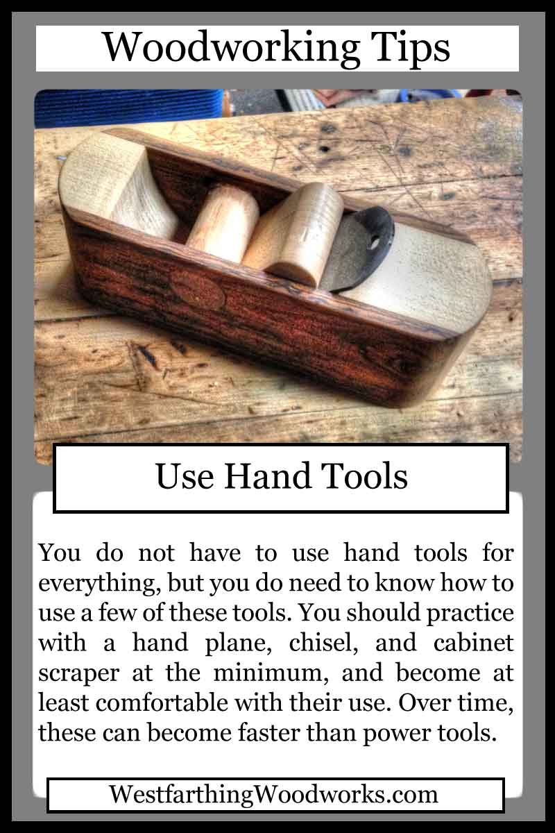 woodworking cards use hand tools
