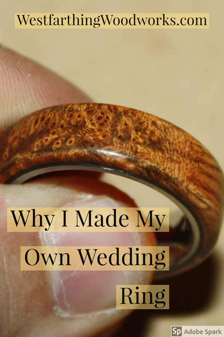 why i made my own wedding ring
