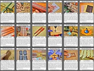 52 woodworking tips for beginners woodworking tips cards