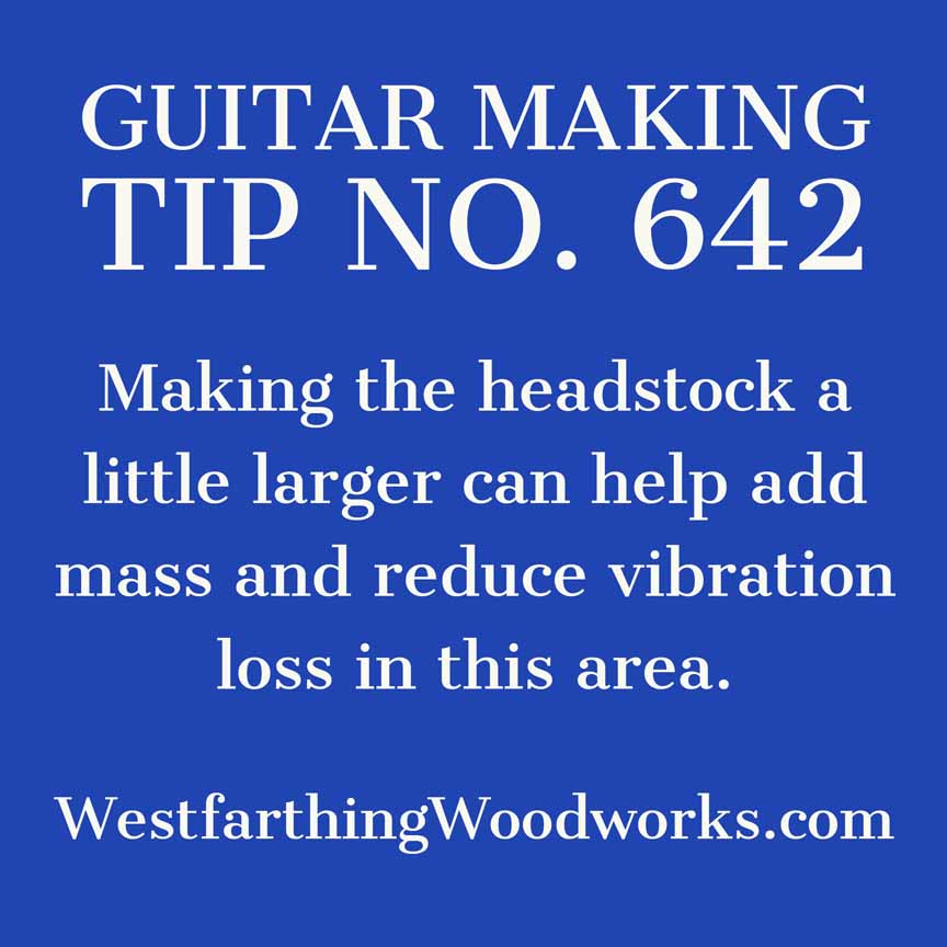 guitar making tip number 642